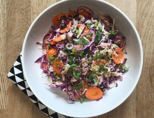 coleslaw vegetalienne